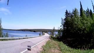 Motorrad in Lappland Finnland (7)