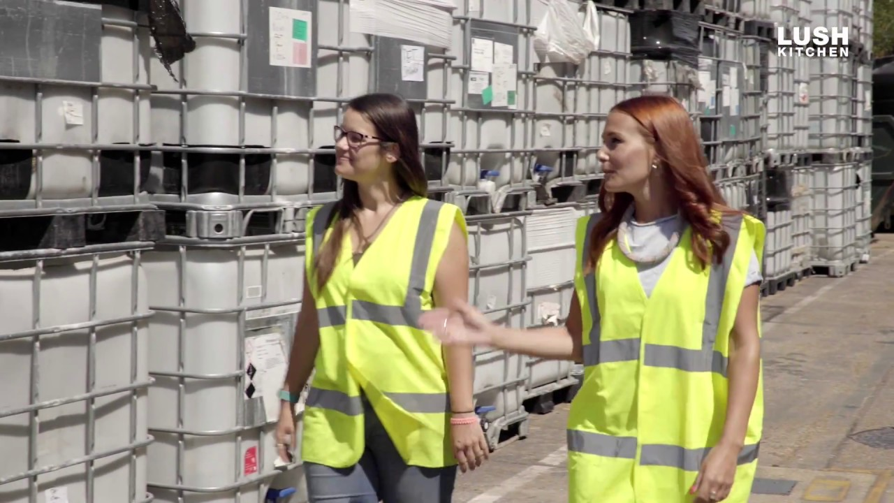 How We Recycle: Inside Lush's Greenhub | Lush Kitchen ...
