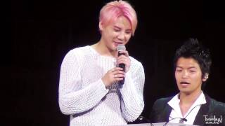 XIA the Best Ballad Concert in Osaka. * Do not re-upload! * 빵(올팬...