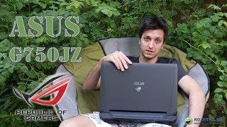 видео Обзор игрового ноутбука ASUS G750JZ. Характеристики, цены, фото
