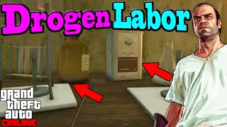 GTA 5 Online TREVORS DROGEN LABOR [Secret Location/Geiheimer Ort] | 1.35 NHW HD