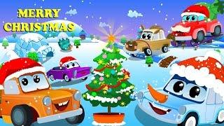 we wish you a merry christmas   kids cars   christmas   zeek and friends