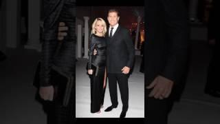 David Hasselhoff 64 enjoys London dinner date leggy fiance Hayley Roberts 36