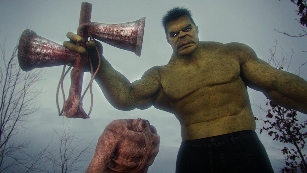 Siren Head vs Hulk