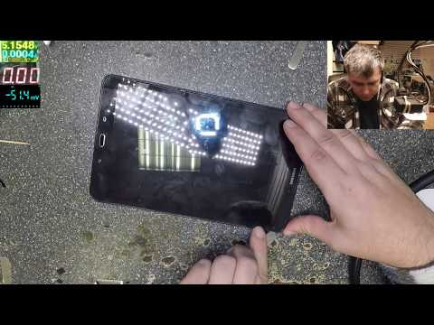 Samsung Galaxy Tab A SM-T580 No Power, Not Charging