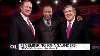 Bob Ley: John Saunders was a man of character - SportsCenter (08-10-2016)