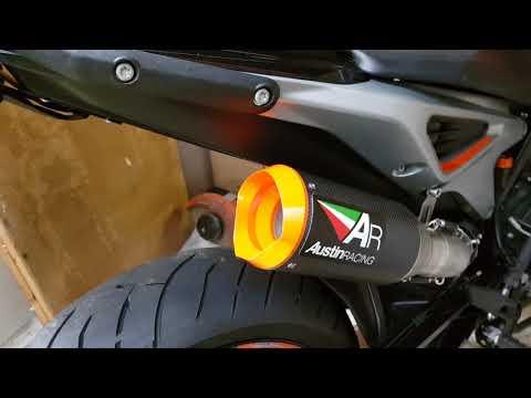 KTM 790 Duke Austin Racing Exhaust GP1R
