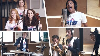behind the scenes of the le freak remix with nile rodgers and rudimental 60 second edit