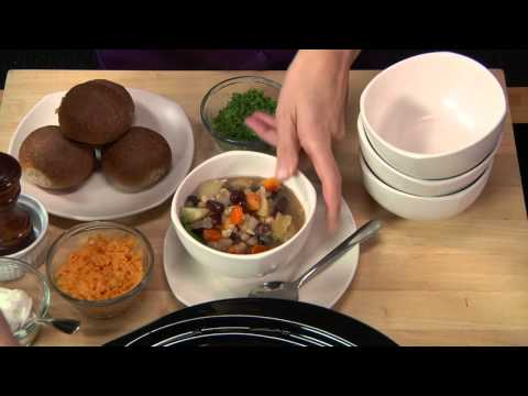 Slow Cooker Bean And Vegetable Stew - LeGourmetTV