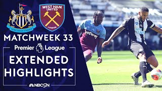 Newcastle V. West Ham | Premier League Highlights | 7/5/2020 | Nbc Sports