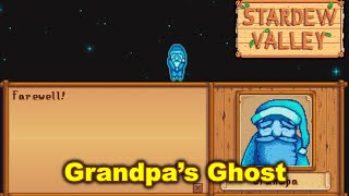 Stardew Valley - Grandpa's Ghost