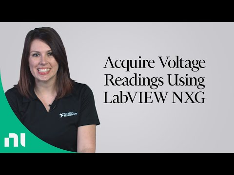 Begin Acquiring Voltage Measurements With LabVIEW NXG