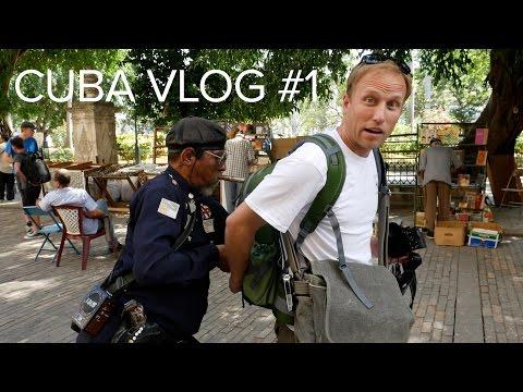 Cuba Photography Vlog #1 - In Trouble in Havana