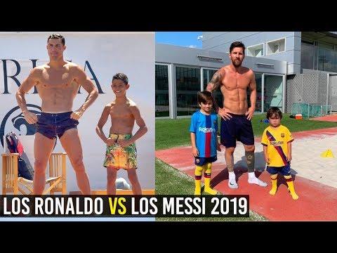 LOS RONALDO VS LOS MESSI 2019, ASÍ ES SU ENTRENAMIENTO Y ESTILO DE VIDA