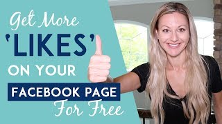 Get More Facebook Likes - My Secret FREE Strategy That's Working Like Crazy!