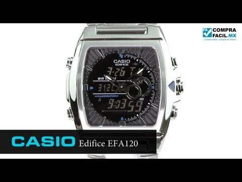 Reloj Casio Edifice EFA120 Metal - Www.CompraFacil.mx