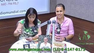 Alê Olív fala sobre moringa na Consciência Cósmica -  com Eliane de Araujoh (Rádio Mundial)