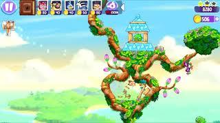 Angry Birds Stella - Unlock Dahlia Bird - Superpower Science-Fu - Levels 47-53