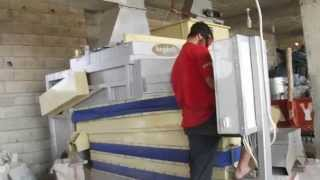 Antep fıstığı hafif tane boş dolu ayırıcı temizleme makinesi
