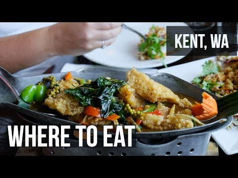 7 Places To Eat And Drink In Kent, Washington - Filmed With Fujifilm X-H1