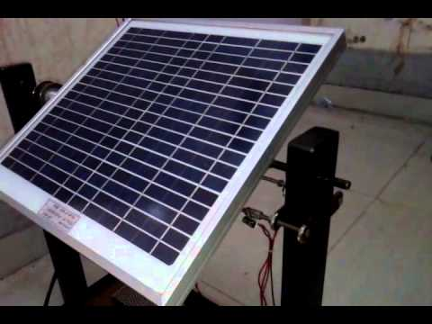 Automatic solar tracker using PLC..(sensor - ldr)