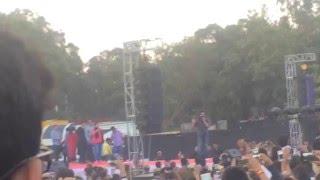 srk live at hansraj college fan song launch 2016