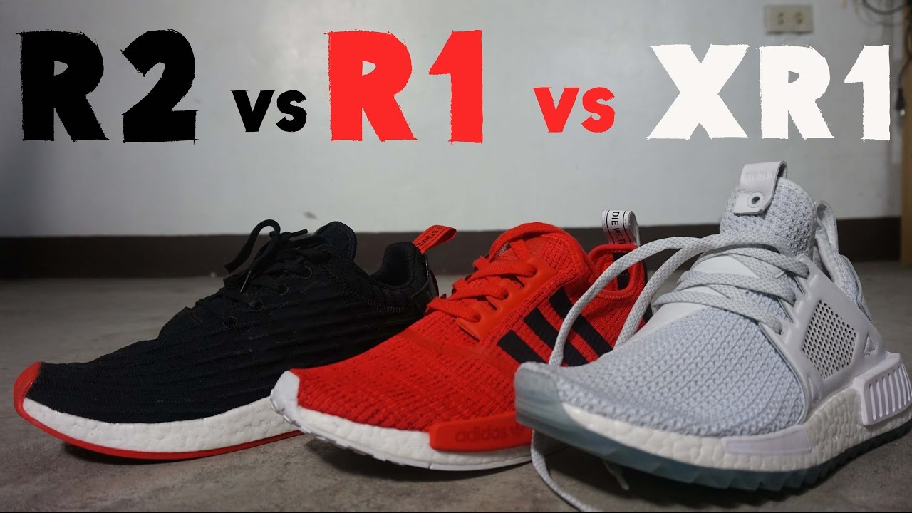 THE BEST ADIDAS NMD FOR 2017 - NMD R1 VS NMD R2 VS XR1