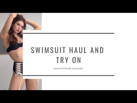 800 DOLLAR SWIMSUIT HAUL AND TRY ON
