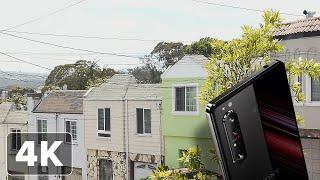 Sony Xperia 1 II: 4K Cinema Pro video footage