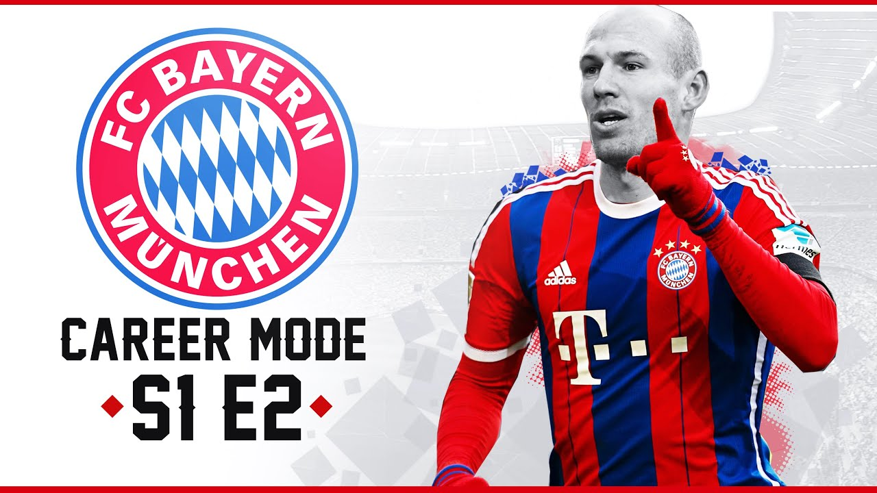 FIFA 15: Bayern Munich Career Mode - CHAMPIONS LEAGUE BEGINS