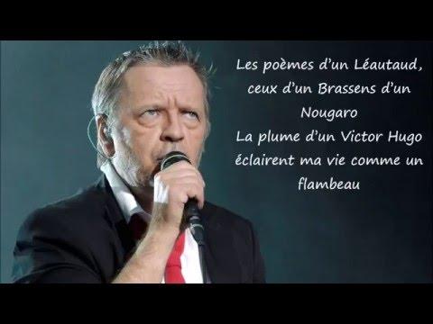 Renaud - Les mots Paroles