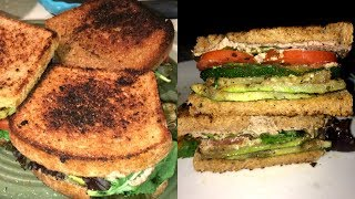 ALKALINE ELECTRIC GRILLED ZUCCHINI & RANCH SANDWICH   THE ELECTRIC CUPBOARD