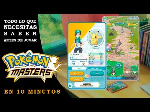 ¡ANTES DE JUGAR A POKEMON MASTERS MIRA ESTE VIDEO! 🥇