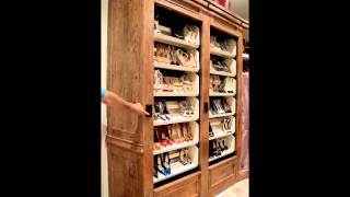 Maurice's Furnishings Closet Rotating Shoe Rack