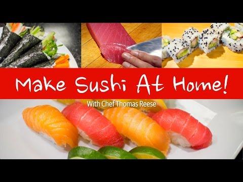 Making Sushi at Home