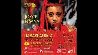 Joyce N'sana - Habari Africa Virtual Festival 2021 by Batuki Music Society