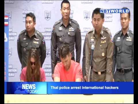 Thai police arrest international hackers