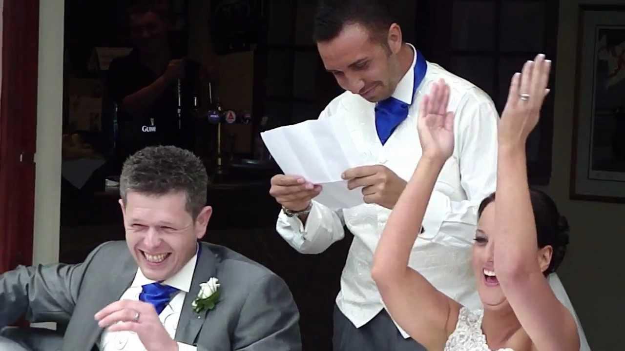 Keiran Lee Best Man Speech At One Of His Best Friends Wedding Youtube