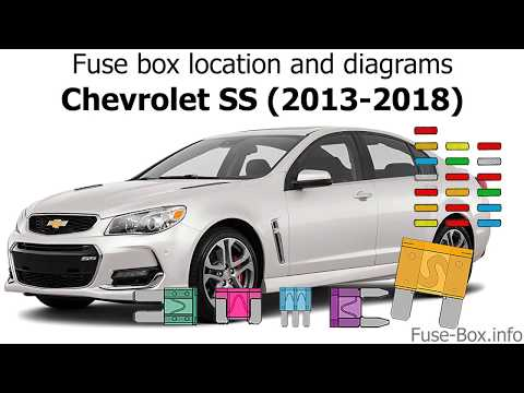Fuse Box Location And Diagrams: Chevrolet SS (2013-2018)