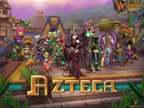 Wizard101 new world azteca lvl 90 new spells and craftin - Wizard101 pics ...