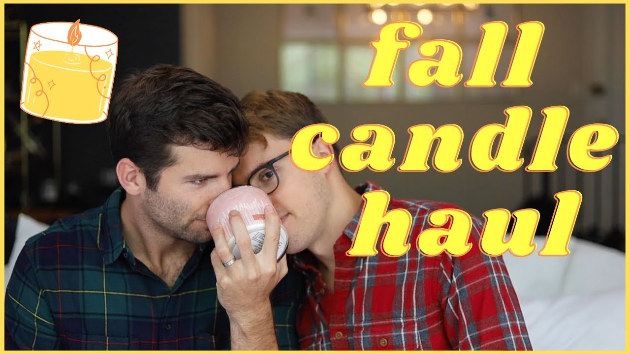 fall candle haul (white barn candle review) | Taylor and Jeff