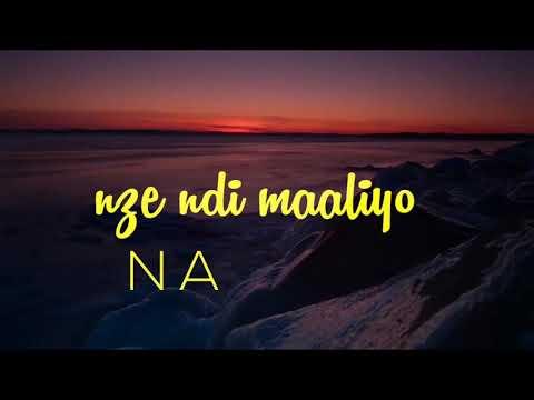 AVM - 'Ndi Maliyo'  OFFICIAL LYRICS VIDEO