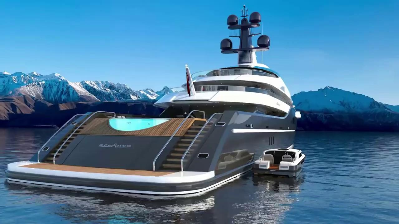 Mega Yacht Concept Cosmos