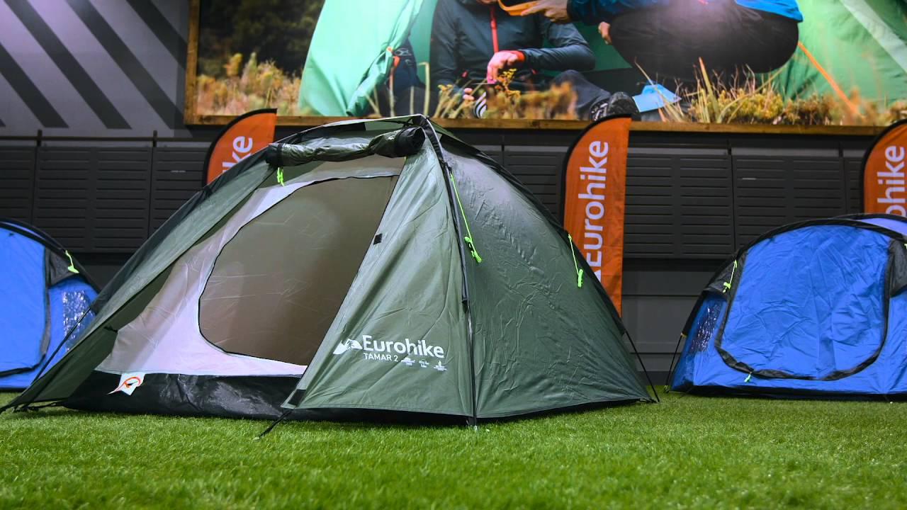 The Eurohike Tamar 2 Man Tent & The Eurohike Tamar 2 Man Tent - YouTube