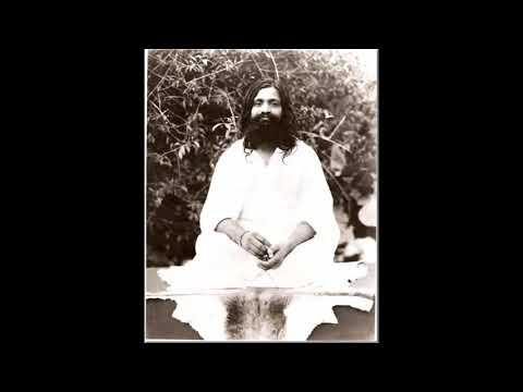 Maharishi Mahesh Yogi: Deep Meditation, Cambridge, 1960, Audio
