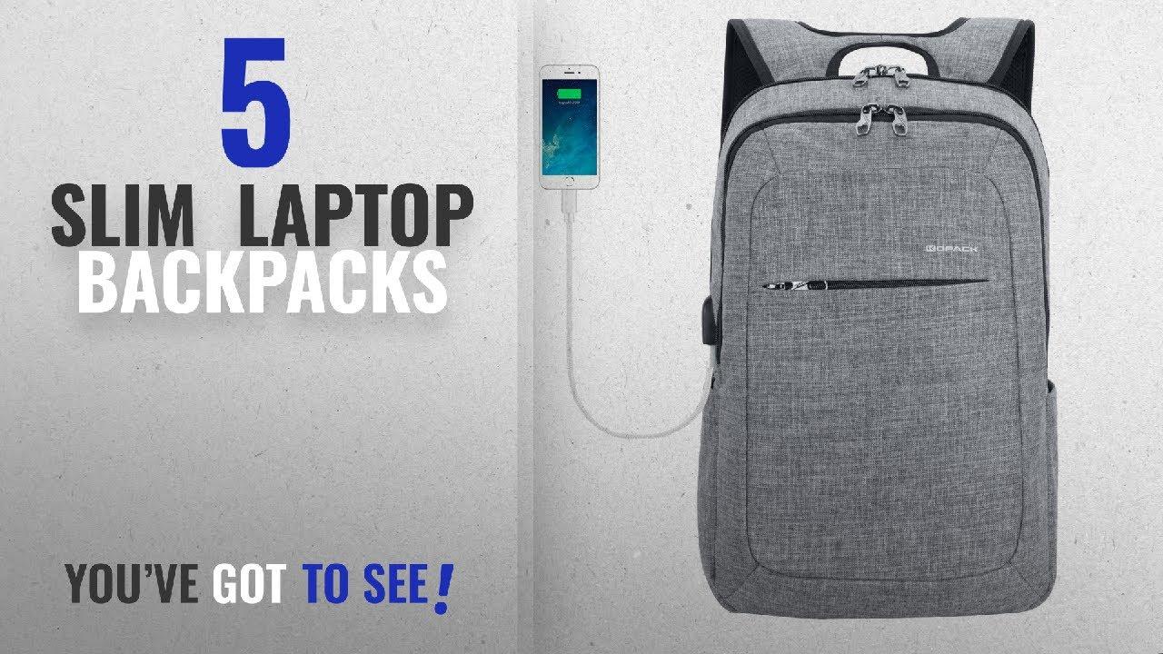 a27e39840344 Slim Laptop Backpacks  2018 Best Sellers   Kopack Slim Business ...