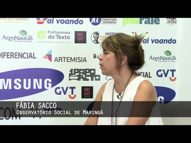Prêmio Empreendedor Sustentável - Fábia Sacco