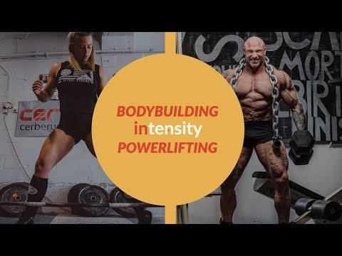 Training Intensity Defined: Bodybuilding vs Powerlifting