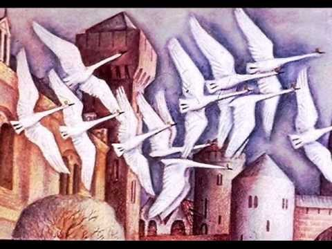 Сказка Андерсена Дикие лебеди читать онлайн