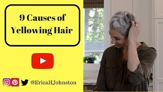 9 Causes of Yellowing Hair on Silver / Grey Hair